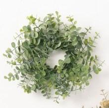 Green Eucalyptus Candle Ring