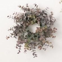 Purple Green Eucalyptus Ring