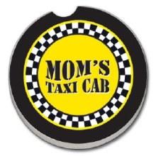 Moms Taxi Cab Car Coaster
