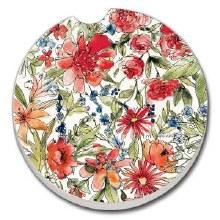 Floral Car Coaster