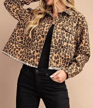 Leopard Jacket Lg Brown