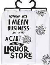 Liquor Store Towel
