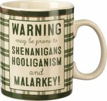 Warning May Be Prone To Coffee Mug