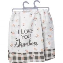 I Love You Grandma Hand Towel
