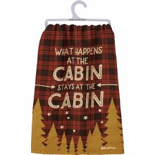 At The Cabin Hand Towel