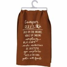 Camper Rules Hand Towel