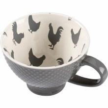 Grey Chicken Coffee Mug