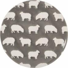 Grey Sheep Plate Medium