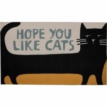 Hope You Like Cats Rug