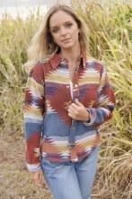 Western Blanket Jacket