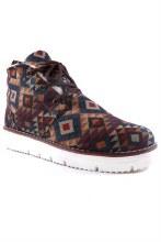 Navajo Aztec style print sneaker