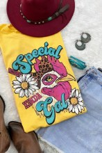 Special Gal Tee Sm Yello