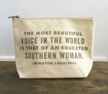 Southern Woman Makeup Bag