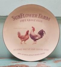 Cream Farm Plate 8 1/2 Chick