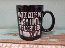 Acceptable To Drink Wine Mug