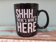Shhh There's Wine In Here Mug