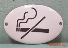 Enamel No Smoking Sn