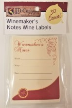 Winemakers Notes Lables