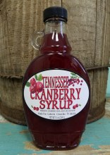 Tennessee Cranberry Syrup