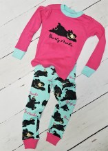 Long Sleeve Bearly Awake Girls Pj's