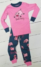 Long Sleeve Kids Bed Hog Pj's