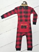 Infant Bear Cheeks Fj 6m Red