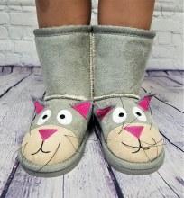Cat Boot Sm Grey