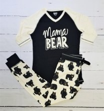 Pant Mama Bear Sm Black