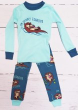 Long Sleeve Kids Otterly Exhausted Pj's