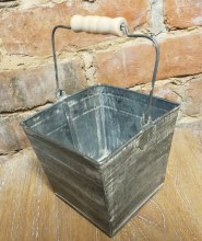 Galvanized Berry Buckets