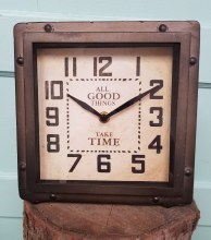 All Good things take time clock