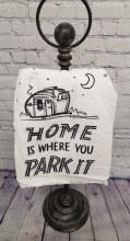 Home Where You Park It Towel