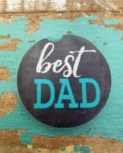 Best Dad Car Coaster