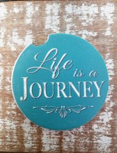 Life Is A Journey Car Coaster