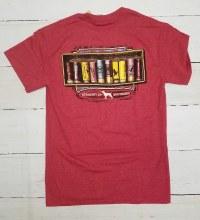 Short Sleeve T shirt with shotgun shells
