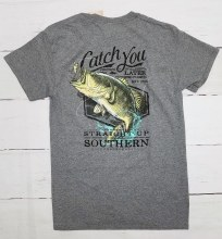 Short Sleeve T shirt with fish