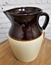 Vintage Crock Pitcher
