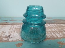 Vintage Insulators Blue