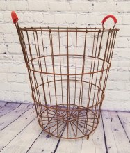 Large Metal Egg Basket