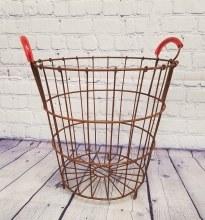 Small Metal Egg Basket