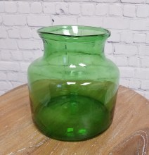 Green Glass Vase 5l