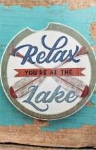 Your At The Lake Car Coaster