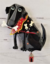 Black Dog with a Bone Clock