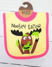 Bib Moosey Eater Pink