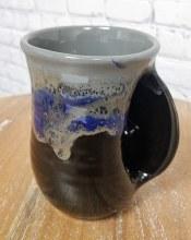 Right Hand Stormy Night Handwarmer Mug