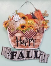 Happy Fall Hanging Sign
