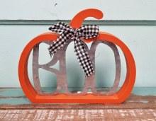 Boo Pumpkin Cutout