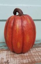 """Resin 10"""" Pumpkin"""