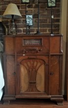 Vintage Radio W/ Record Player