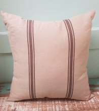 Grey Stripped Pillow